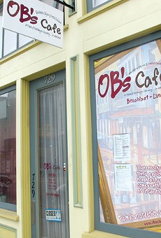 OB's Cafe: not for the sensitive.