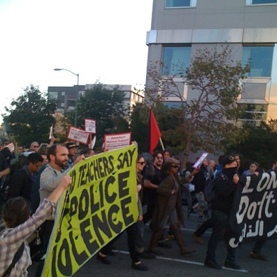 Occupy Oakland Protest, 10/25
