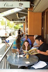SONYA REVELL - Oliveto Cafe is perfect for people-watching.