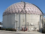 One of East Bay MUD's anaerobic digesters.