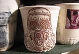 DEWITT CHENG - One of Ehren Tool's untitled ceramic cups.