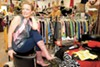 Owner Dianna Rowley stocks a hand-picked selection of vintage clothes at Nonconformist Eco-Boutique.