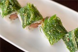 CHRIS DUFFEY - Poki tuna roll: Stick with the maki.