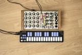 MATT HETTICH - QuNexus and an analog synthesizer.