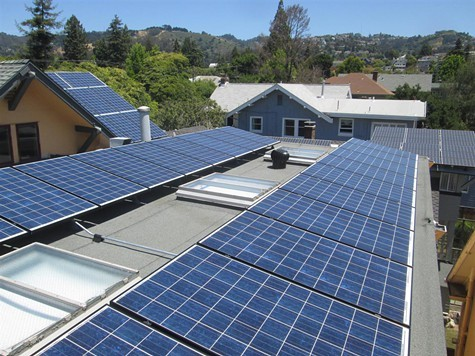 RE-volvs first solar project was the Shawl-Anderson Dance Center in Berkeley