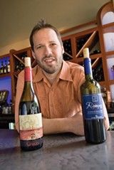 CHRIS DUFFEY - Rick Mitchell of Franklin Square Wine Bar.