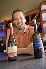CHRIS DUFFEY - Rick Mitchell of Franklin Square Wine Bar.