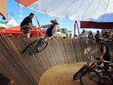 Riding the Whiskeydrome.