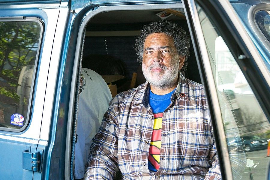 Robert Coney, an East Bay resident who can't afford to pay his traffic fines. - BERT JOHNSON