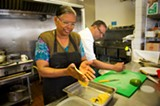 CHRIS DUFFEY - Rooplal and Sushil Masih make many of their dishes from scratch while you wait.