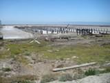 NATE SELTENRICH - Salt production has left an indelible imprint at Eden Landing Ecological Reserve.