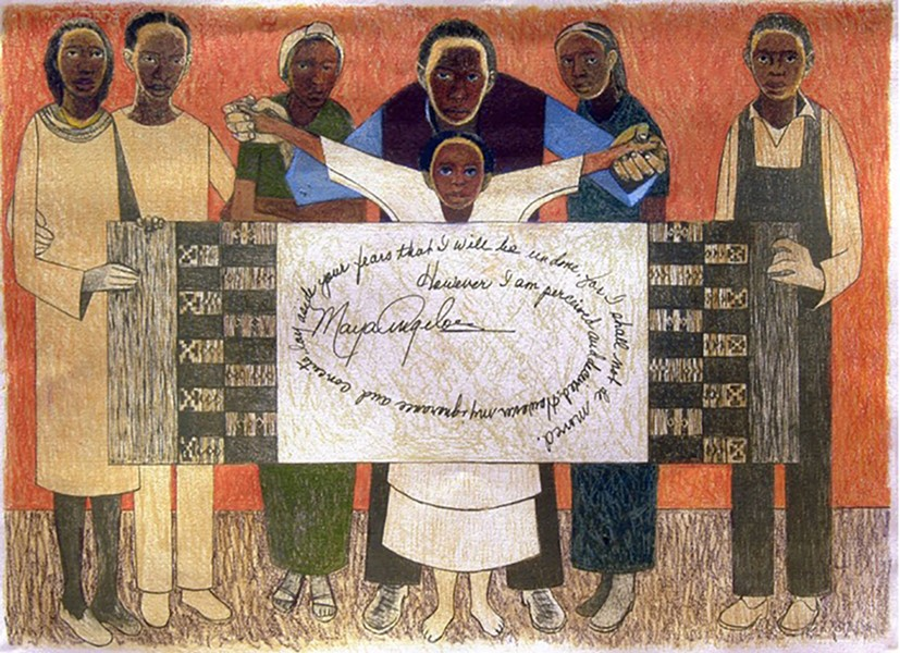 "Samella Lewis' ""Together We Stand."""