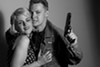 Sarah Coykendall and Michael Garrett McDonald play ruthless killers who love dancing in <i>The Sadist</i>.