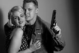 CHESHIRE ISAACS - Sarah Coykendall and Michael Garrett McDonald play ruthless killers who love dancing in The Sadist.