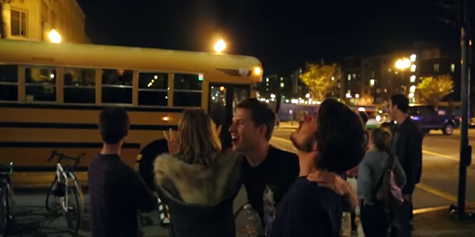 Screenshot of Night School promo video.