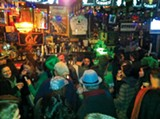 ELLEN CUSHING - Seeing green: inside McNally's on St. Patrick's Day.
