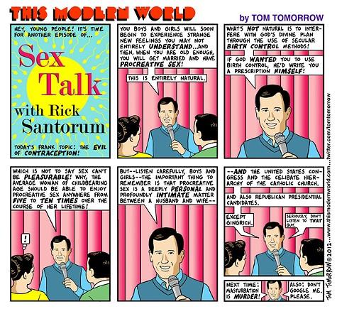 Sex Talk with Rick Santorum