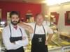 Simone Arpaio and Alberto Malvestio say street people scare customers.