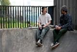 KEN NAGAHARA - Skaters at Bordertown.