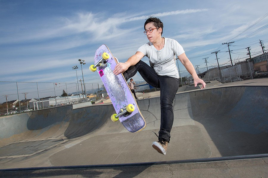 These Female Skateboarders Are Changing the Sport for the Better   East Bay  Express