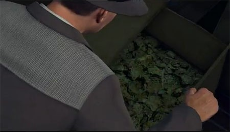 Sorry, grasshoppers, this stash is for the LAPD