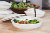 BERT JOHNSON - Standard Fare packages takeout meals in gorgeous earthenware pots.