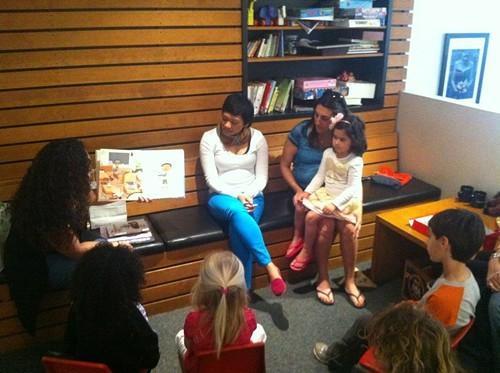 Story time at Farleys East (via Facebook).