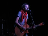 DAVE ABERCROMBIE - Strickman performing at La Peña.