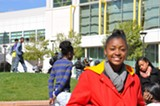 JUDITH SCHERR - Student leader Ashley Webster thinks more should be done for students at risk.
