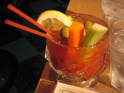 Summertime, and the Bloody Mary goes down easy.