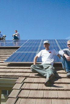 Swords to Plowshares trains military veterans for careers in green technology.