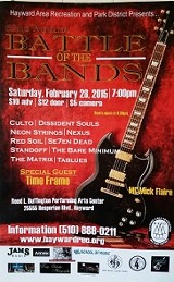 TABLUES in the 52 ANNUAL BATTLE of the BANDS