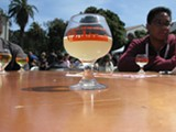 EDEN AMANS - Tag + Jug's cider was very clear, not too sweet, and quite bubbly.