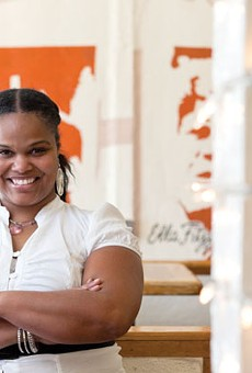 Tamearra Dyson serves up healthy soul food at her Souley Vegan restaurant.