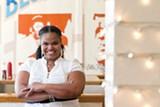 STEPHEN LOEWINOSHN - Tamearra Dyson serves up healthy soul food at her Souley Vegan restaurant.