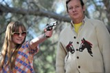 Tara Lynne Barr and Joel Murray star in God Bless America.