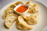 CHRIS DUFFEY - Tashi Delek's momos were some of the best we've had.