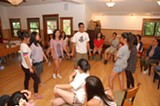 ALEC MACDONALD - Teenagers participate in a workshop sponsored by Asian Communities for Reproductive Justice.