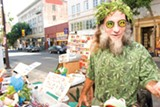 SONYA REVELL - Telegraph Avenue's colorful vendors set up shop year round.