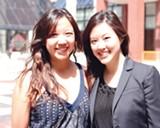 Teresa Wu and Serena Wu.