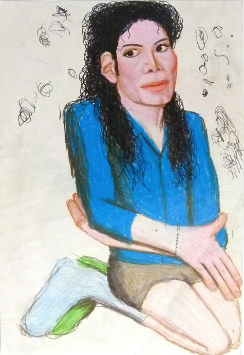 Terri Bowdens untitled ode to Michael Jackson