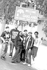 The 2008 Oakland Slam Team.