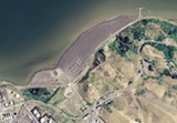 The 66-acre Selby Slag Site hugs the East Bay shoreline near the mouth of the Carquinez Strait.