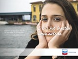 "TRUECOSTOFCHEVRON.ORG - The activist groups are satirizing Chevron's ""Human Energy"" ad campaign with their own campaign, dubbed ""Inhumane Energy."""