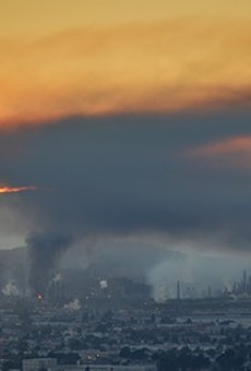 The August 2012 Chevron fire.