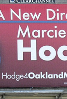 The Baffling Mayoral Bid of Marcie Hodge