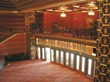 RIN KELLY - The beautifully rehabbed Alameda Theater — complete with the original chandeliers.