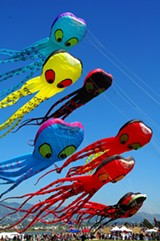 TOM MCALISTER - The Berkeley Kite Festival in July always reaches great entertainment heights.