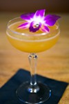 The Black Orchid at Longitude, which comes with a real pearl, is an homage to the tiki tradition.