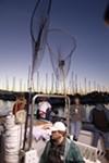 The<i> California Dawn</i> takes parties onto the bay.